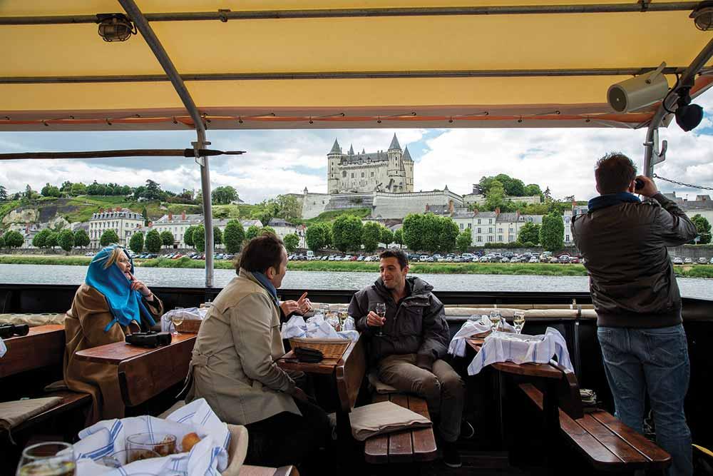 Si vous avez le temps, ne manquez pas la croisière sur la Loire à Saumur.
