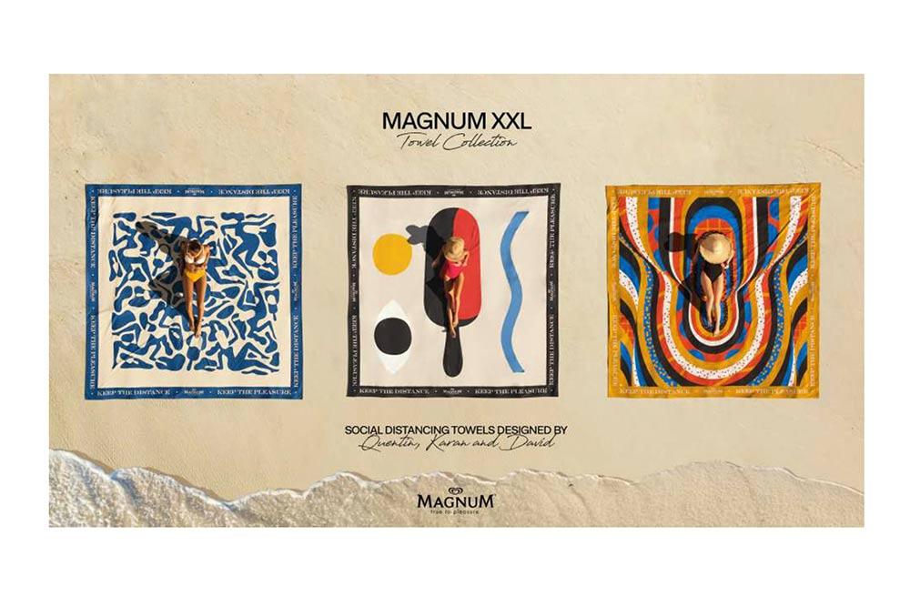 Magnum - des serviettes grand format