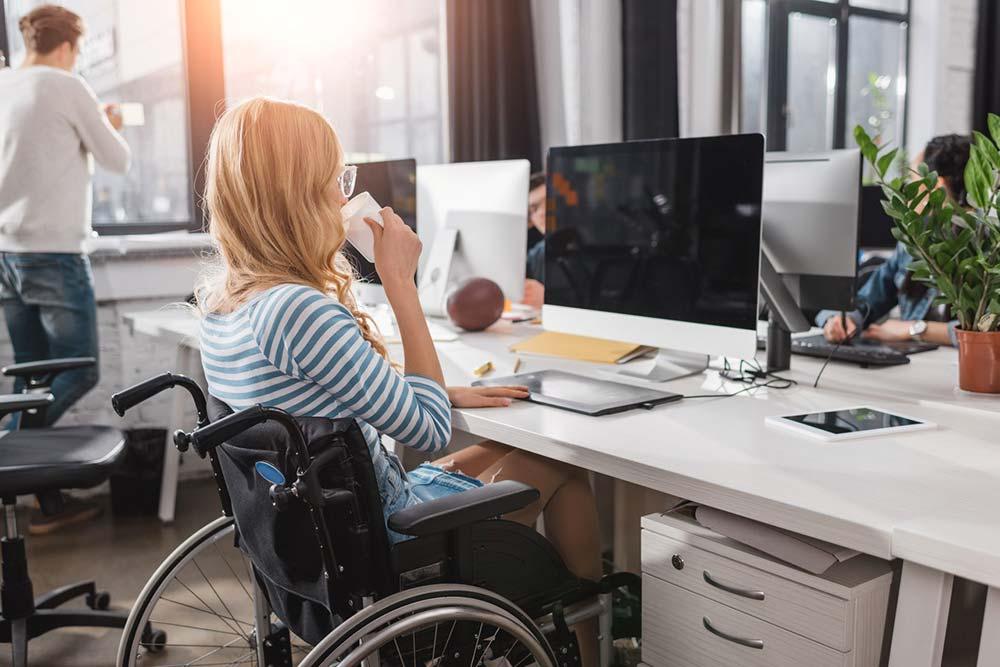 Handicapée