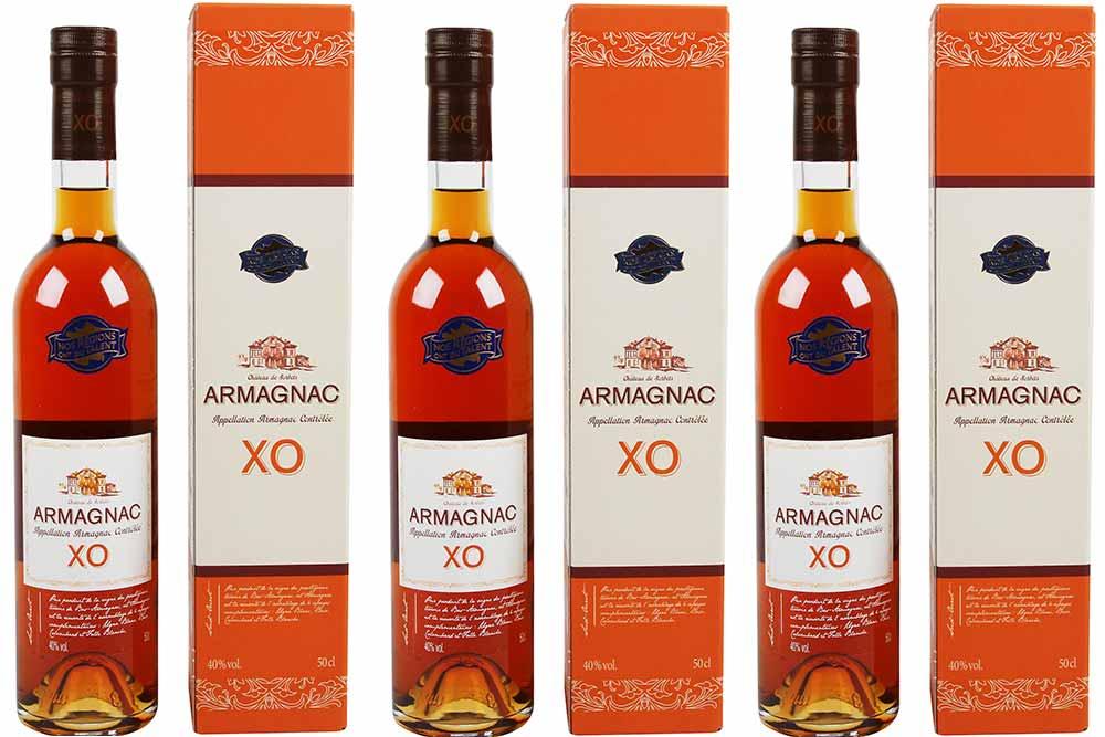 Nos Régions - ont du talent bouteille d'Armagnac