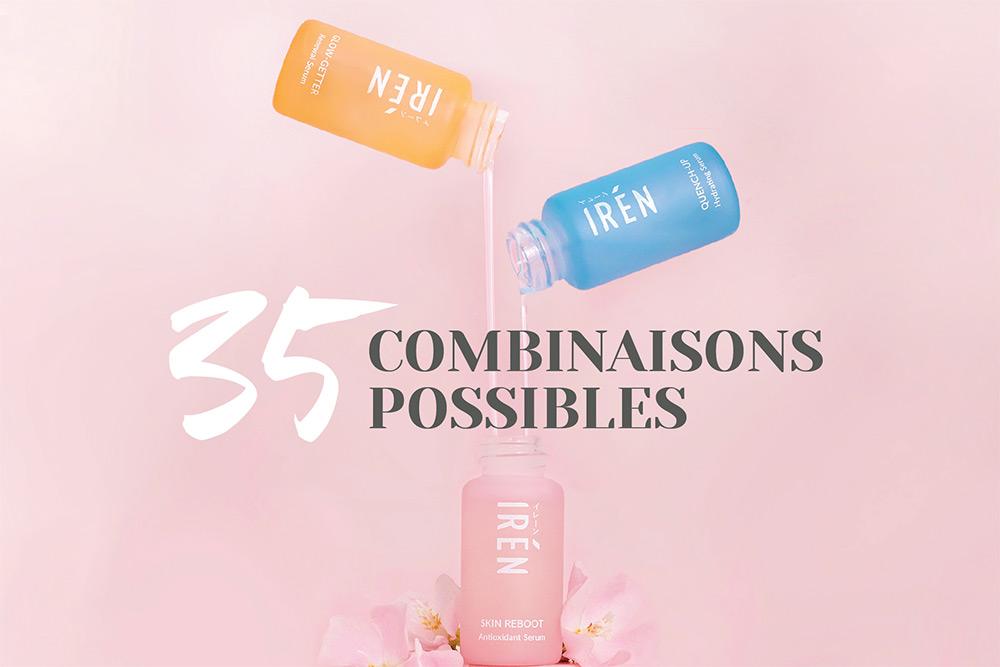 IRÉN Skin - 35 combinaisons possibles