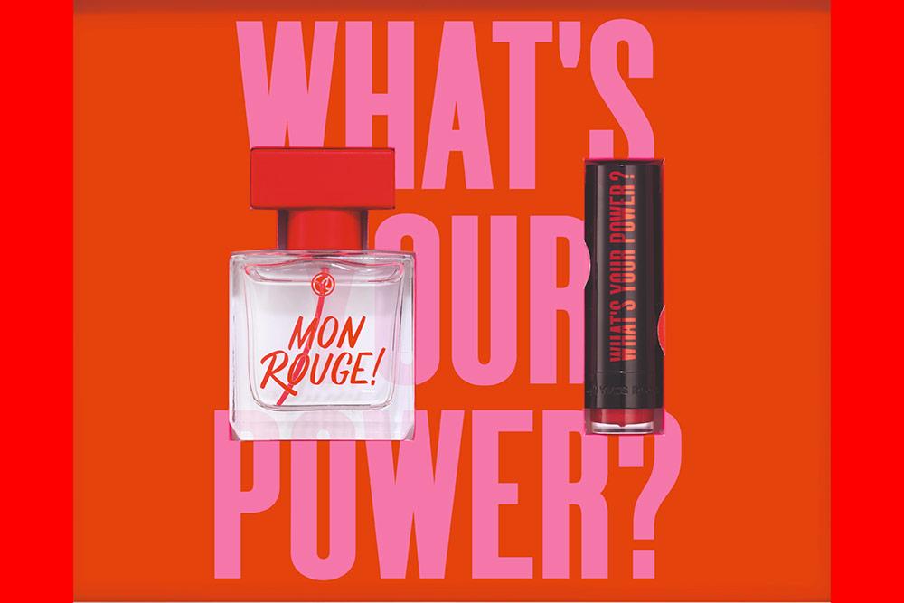 Mon Rouge : le nouveau parfum d'Yves Rocher.