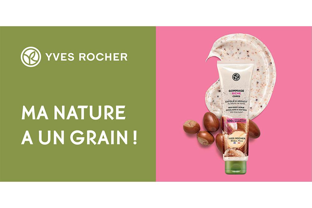 Gommage végétal Yves Rocher - une source de bienfaits