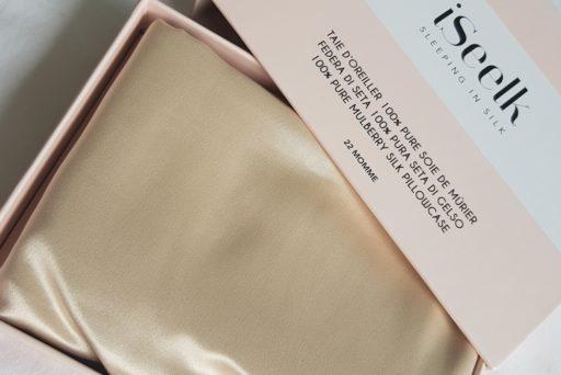 iSeelk : des taies d'oreiller en pure soie de mûrier