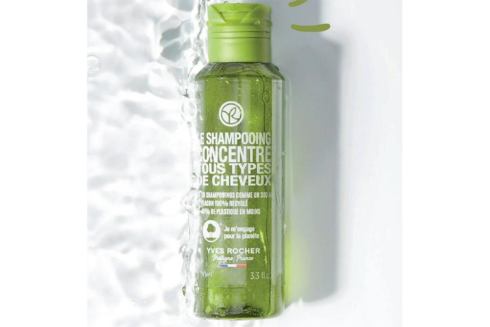 Le shampooing concentré