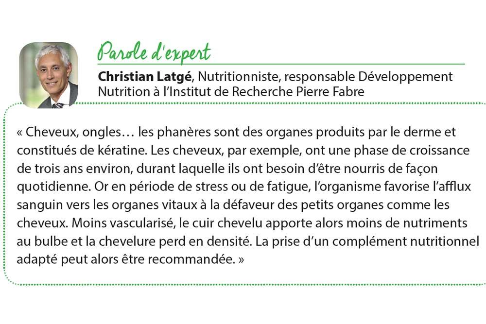 Christian Latgé, Nutritionniste, responsable Développement Nutrition à l'Institut de Recherche Pierre Fabre