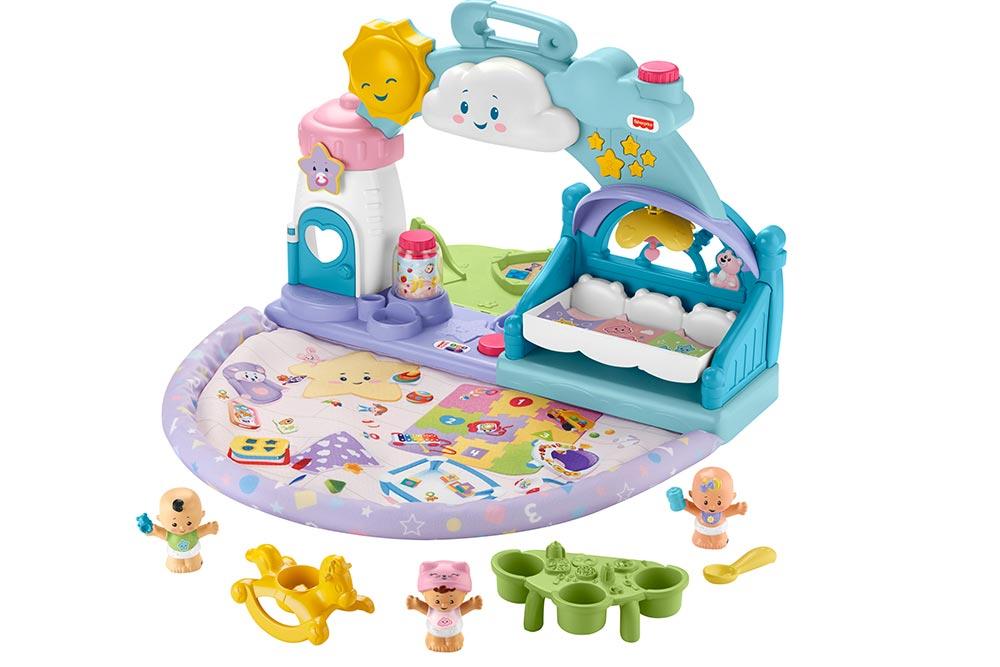 Des jeux - La Crèchedes Little People Babies
