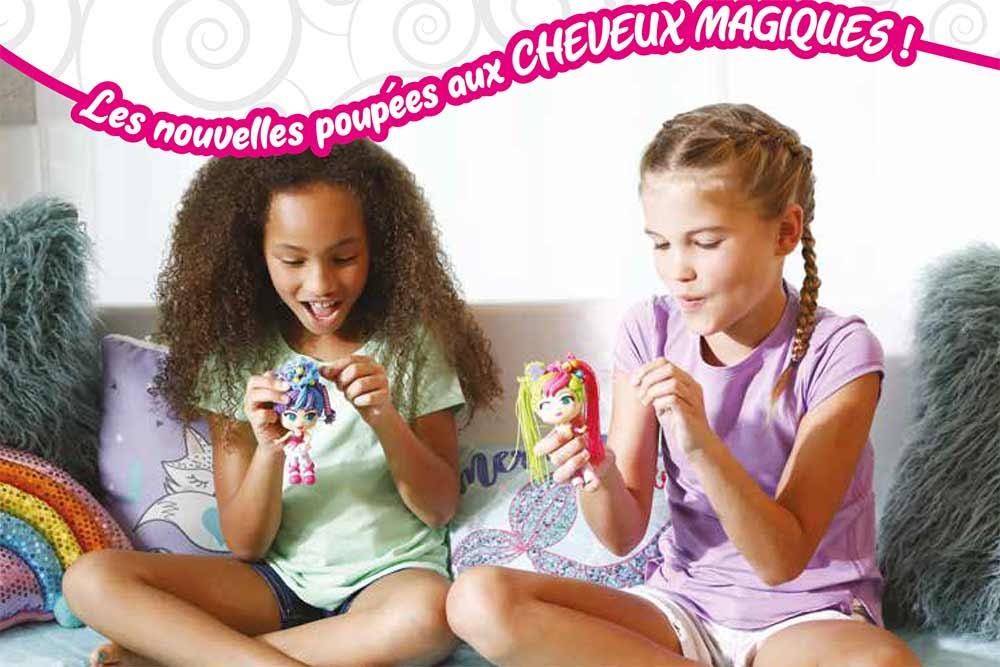 Les filles adorent les poupées magiques