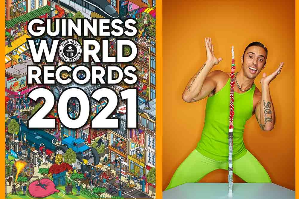 Le Guinness World Records - Le plus de dominos empilés (p.88)