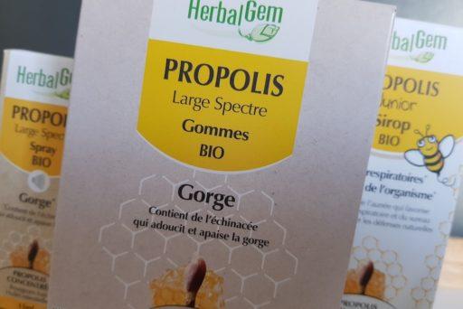HerbalGem : la propolis pour une protection hivernale optimale !