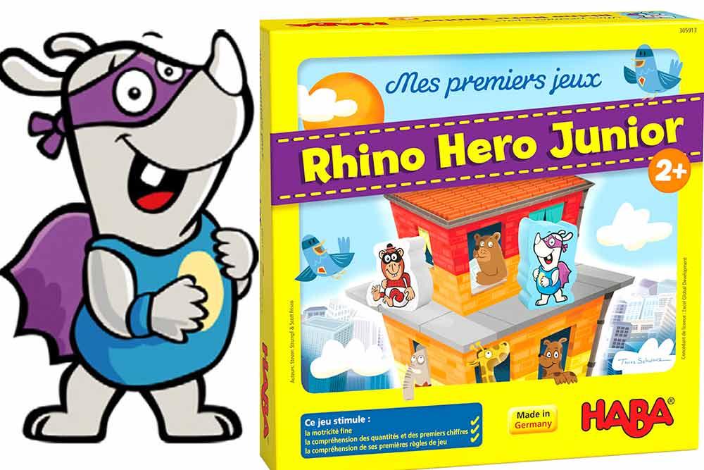 Rhino Hero Junior : à partir de deux ans