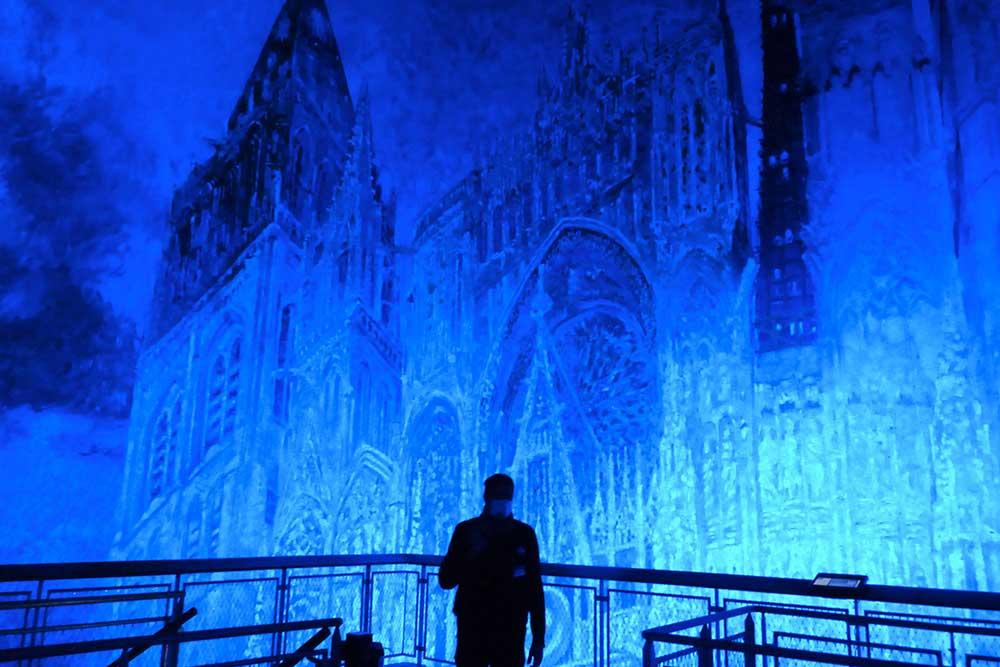 Rouen - La cathédrale de Claude Monet, en lumière et en musique!
