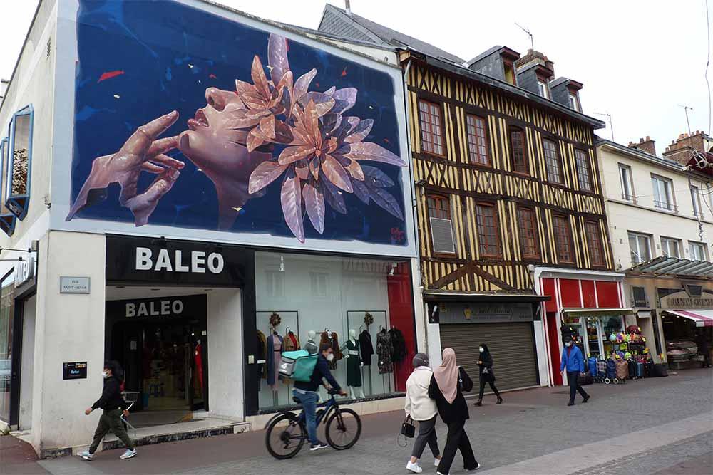 «Renaissance» par Ratur, 94 rue Saint-Sever