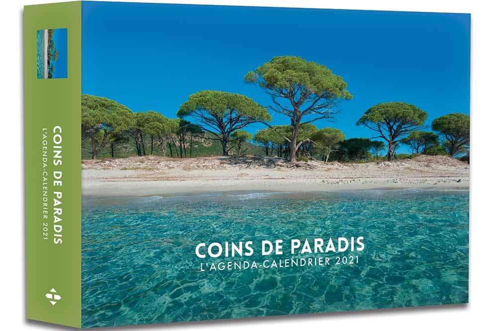 Agendas 52 semaines : Coins de Paradis