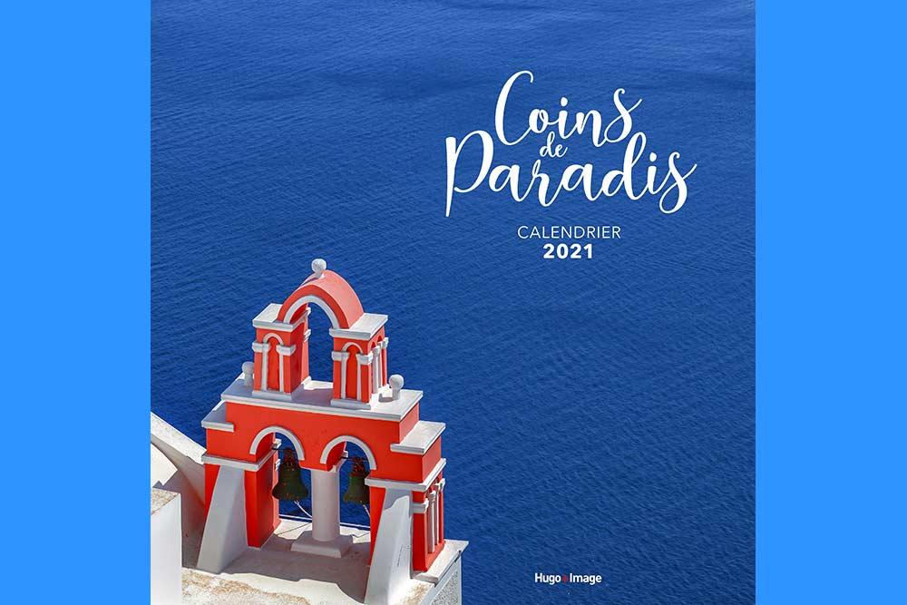 Calendriers muraux - modèle Coins de Paradis