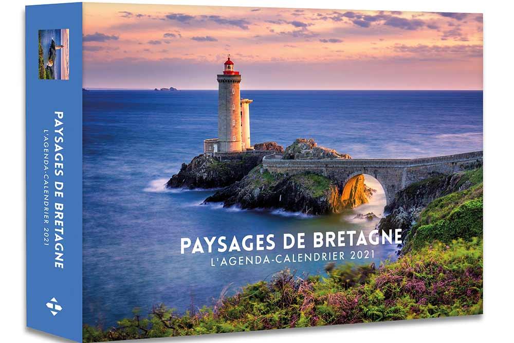 Agendas 52 semaines : Paysage de Bretagne