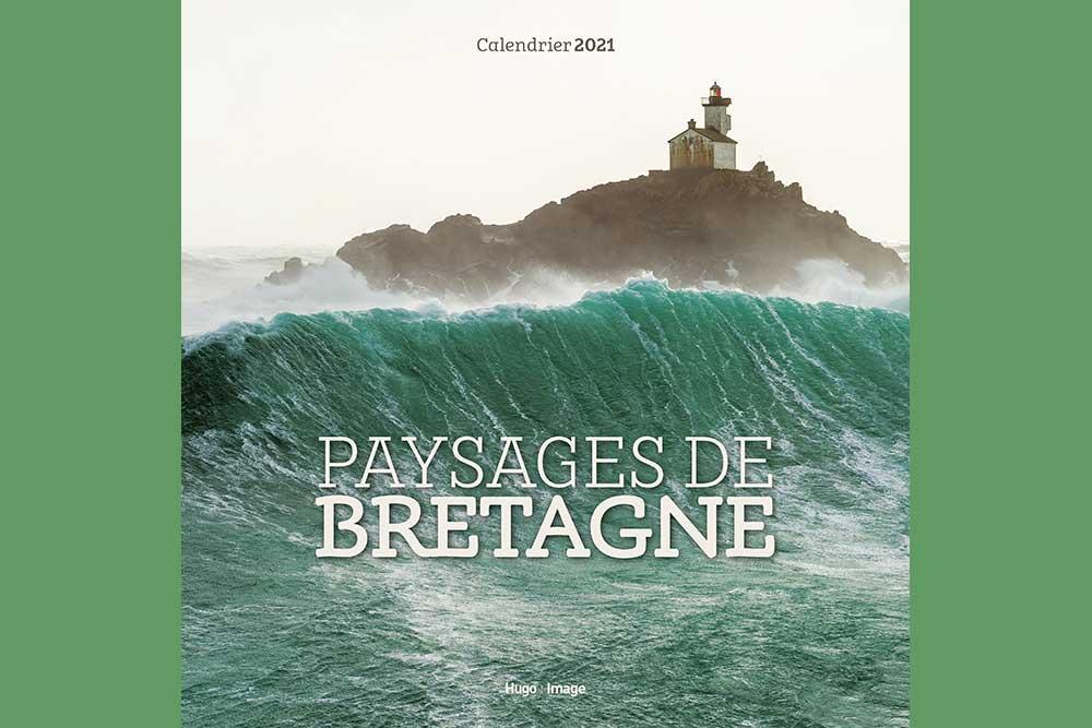 Calendriers muraux - modèle Paysages de Bretagne