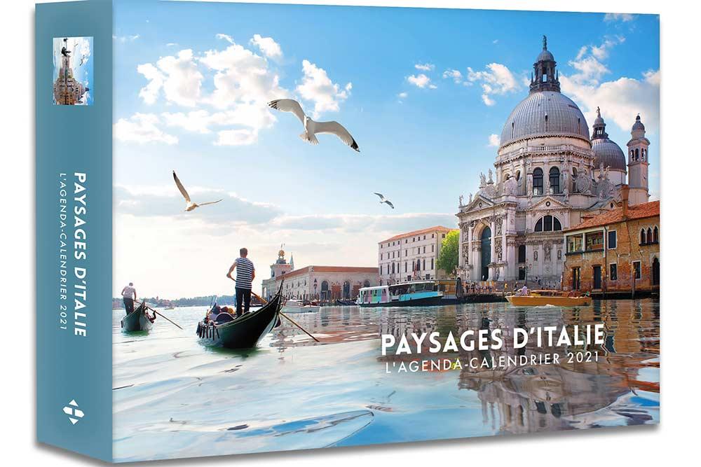 Agendas 52 semaines : Paysage d'Italie