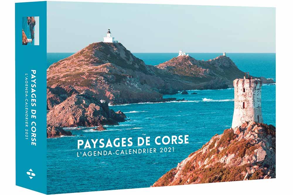 Agendas 52 semaines :Paysage de Corse