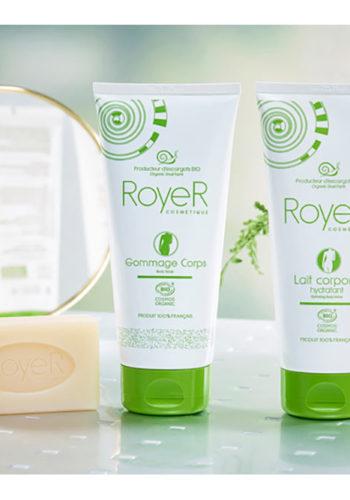 RoyeR Cosmétique - produits à la Bave d'Escargot