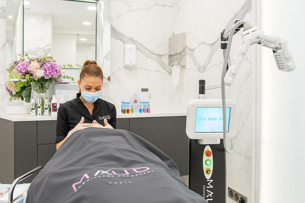 Le soin signature : massage du visage