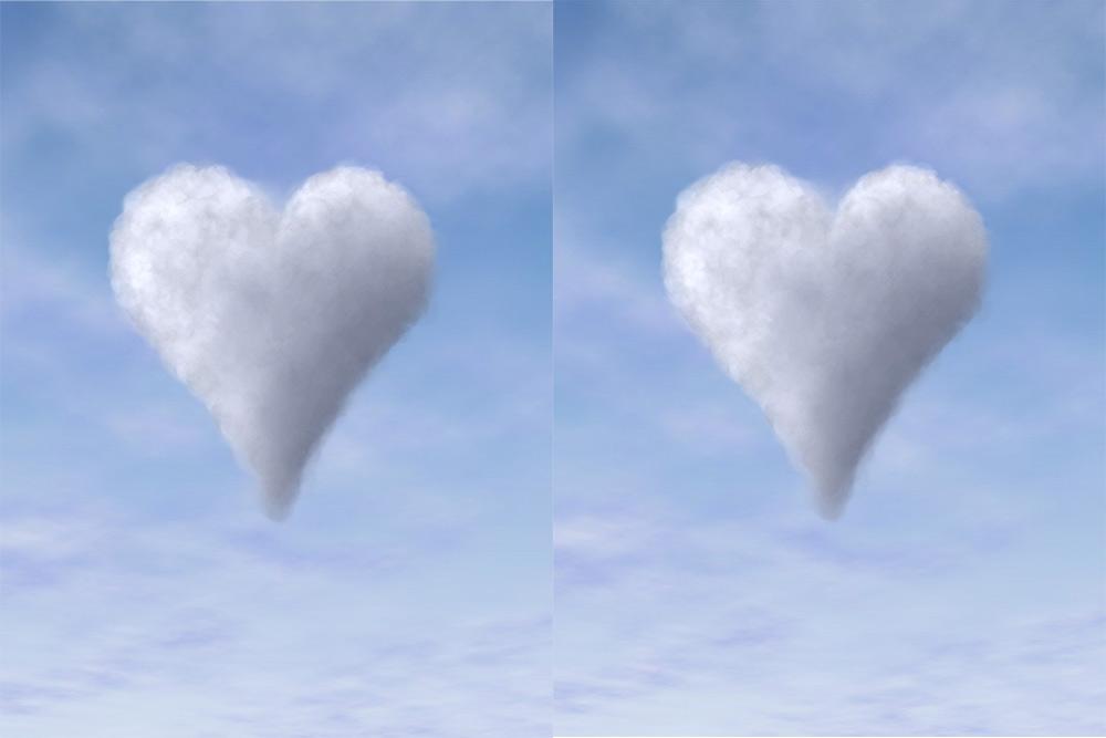 Coeurs dans le ciel
