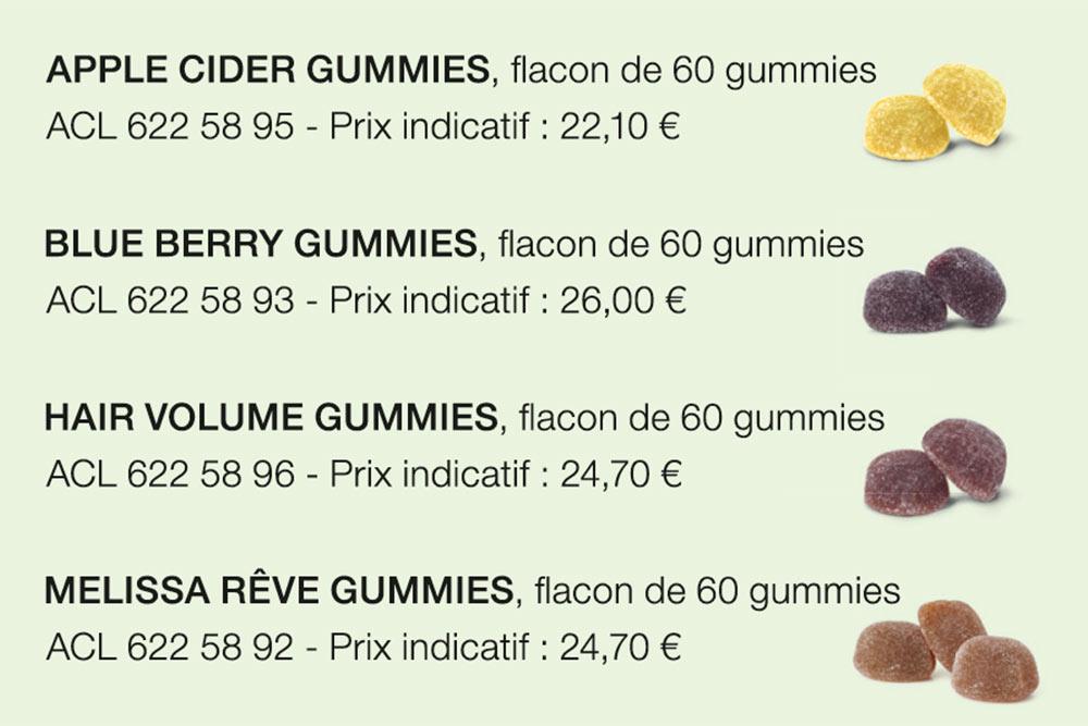 Gummies a mâcher pour votre santé