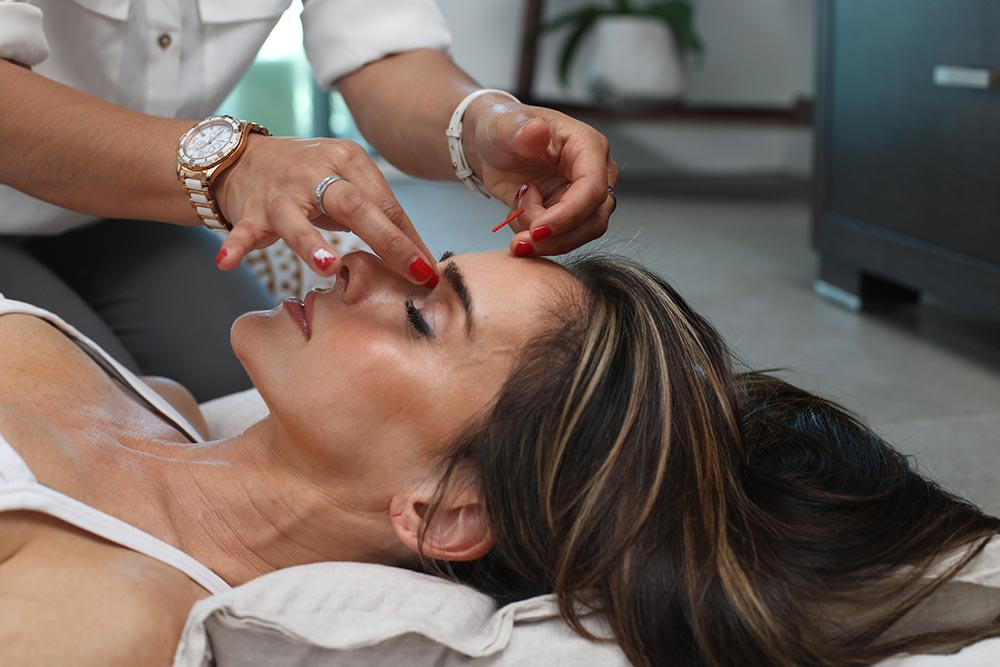 Massage - du visage