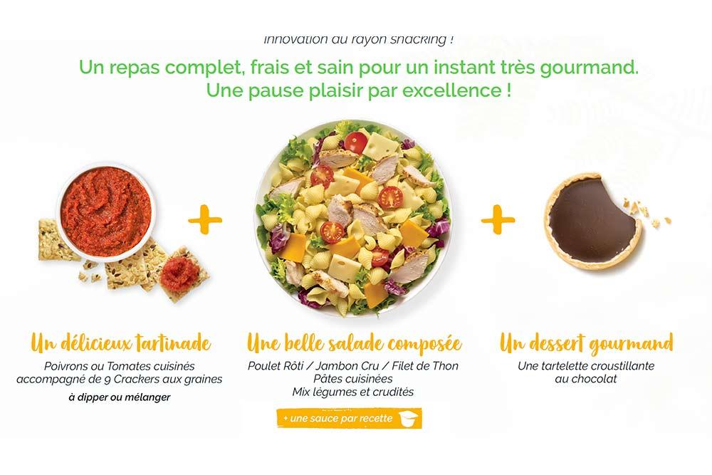 Informations sur les salades Daunat