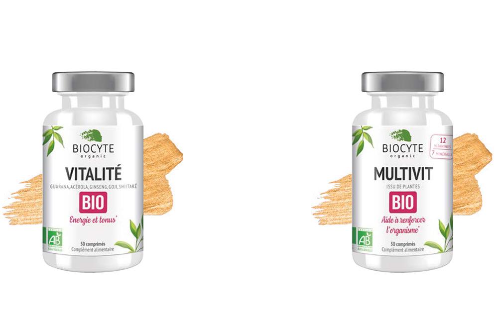 Vitalité Bio et Vegan et Multivit Bio et Vegan