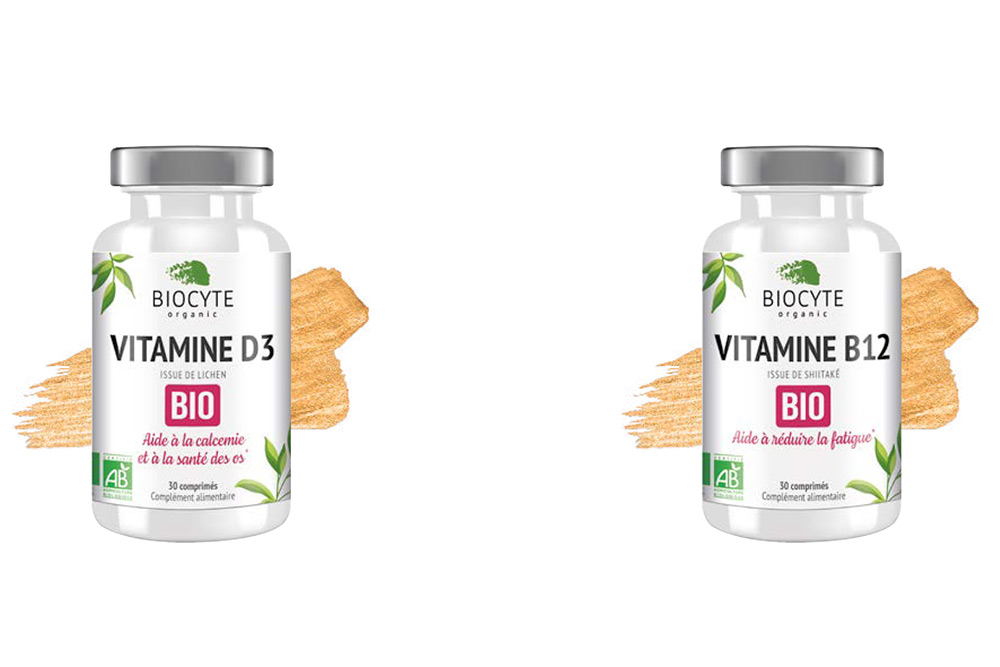 Vitalité D3 Bio - Vitamine B1 Bio et Vegan