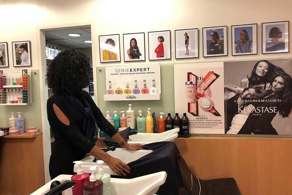 Salon mod's hair