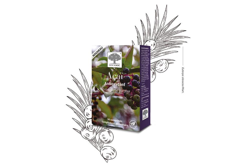 Açaï : une mono-plantes qui lutte contre les radicaux libres
