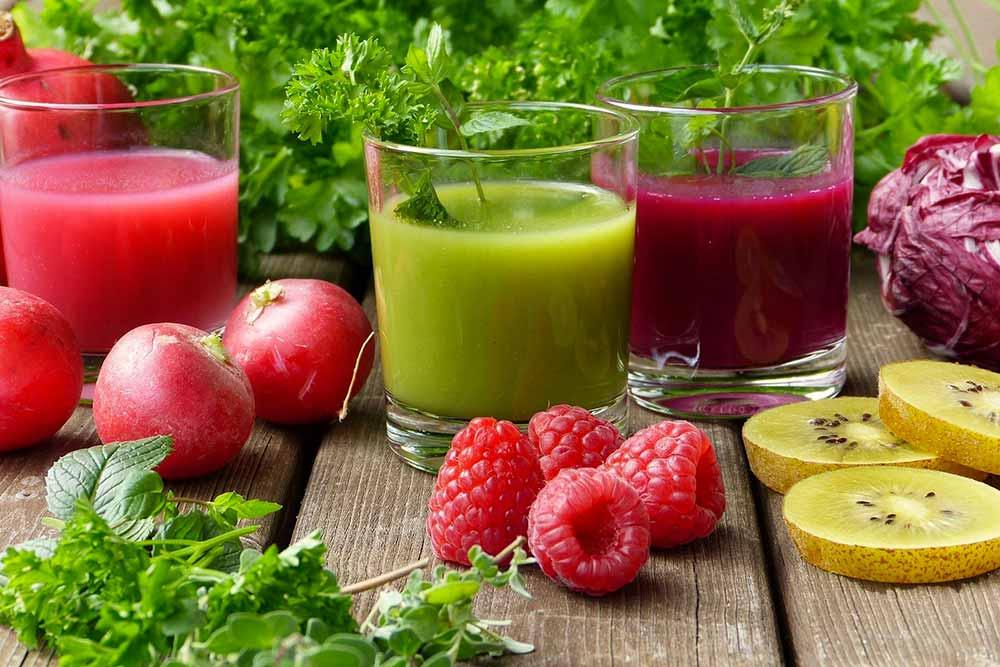 Des boissons saines et vivifiantes