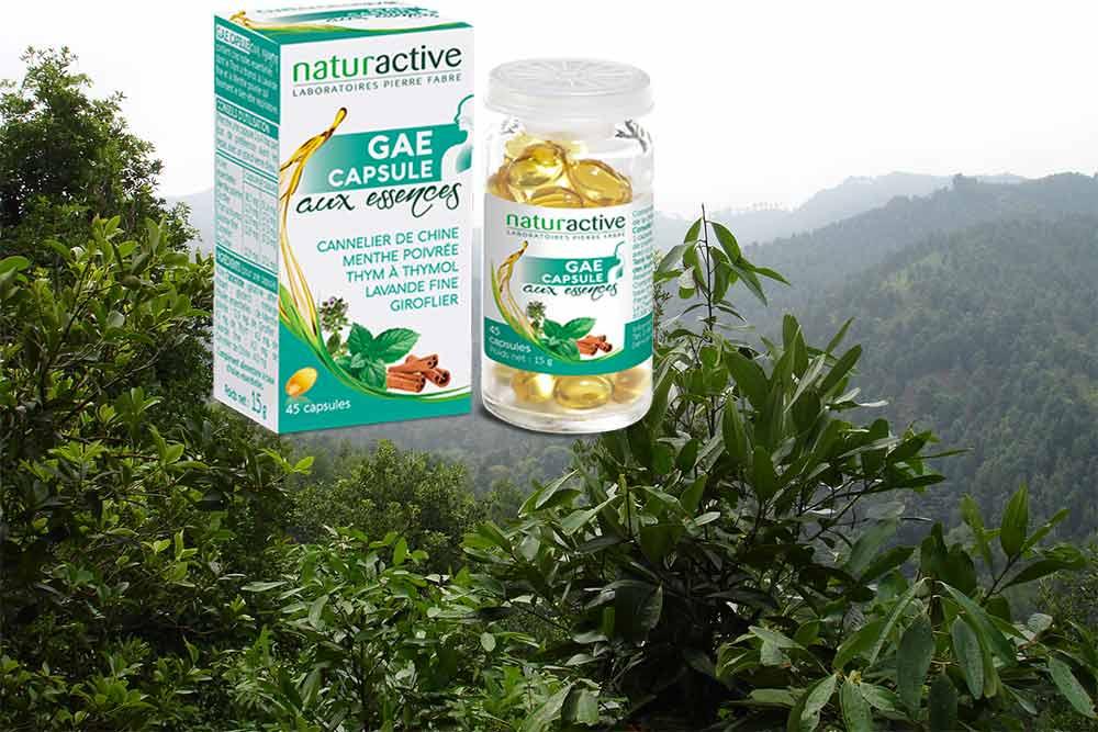 Bien-être respiratoire - avec le GAE Capsule aux essences Naturactive