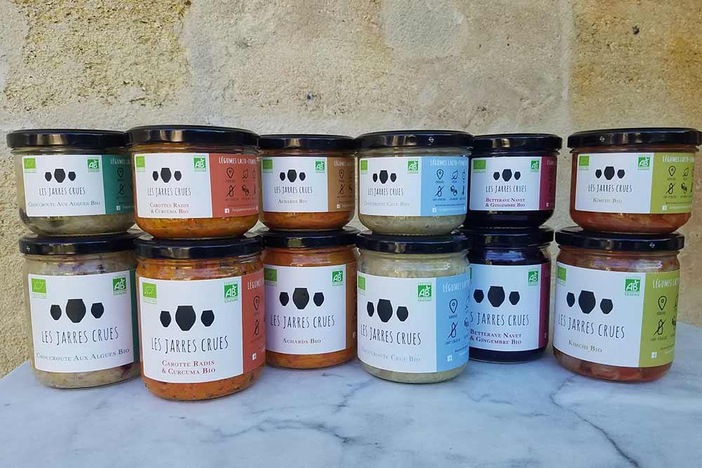 Les Jarres Crues - une gamme de produits sains et savoureux
