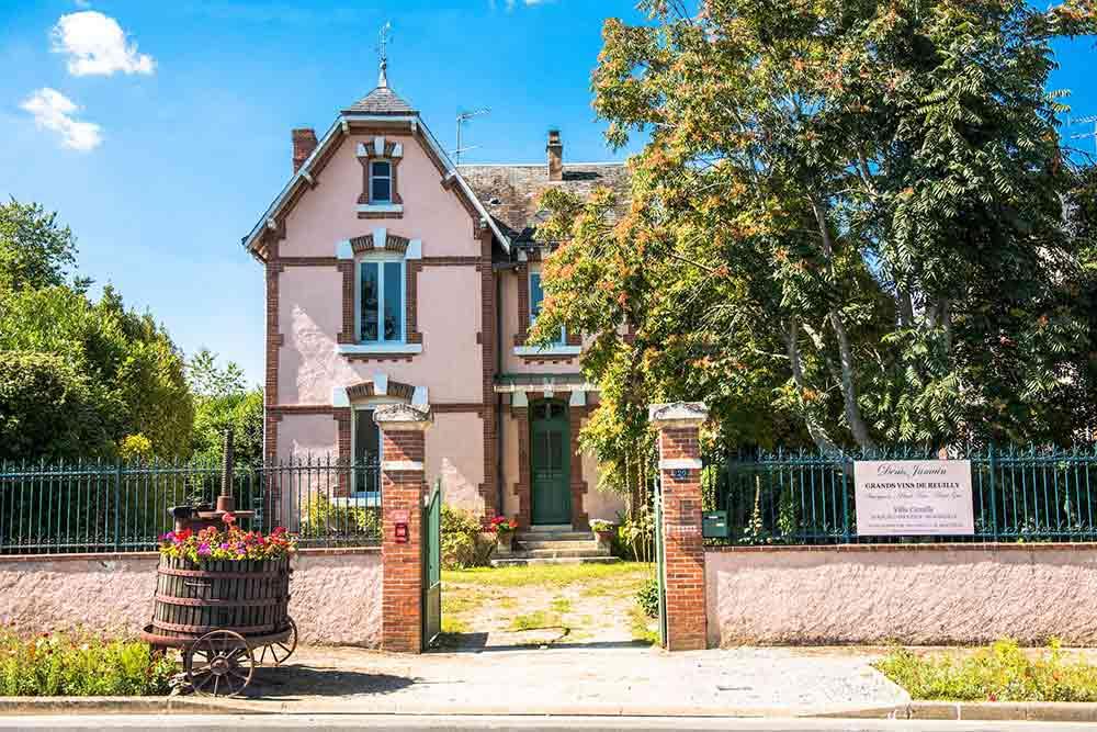 Domaine Jamain Reuilly et la Villa Camille
