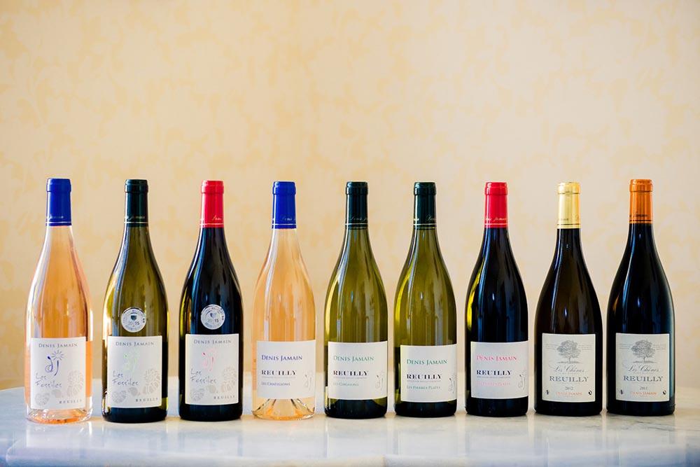 Collection des vins du Domaine Jamain