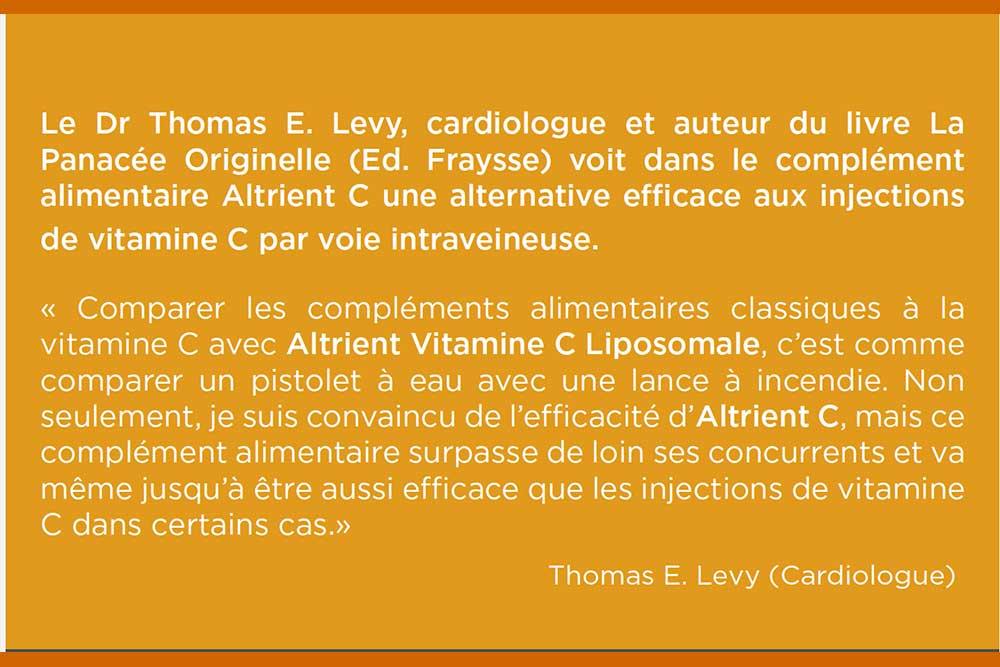 L'avis du Dr Thomas