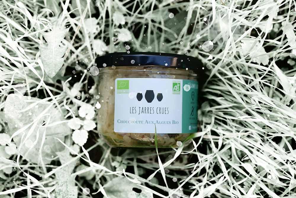 Une succulente choucroute aux algues