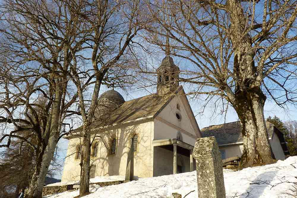 Mégève - Notre-Dame-des-Vertus, sur le chemin du Calvaire