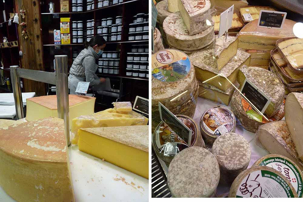 Coupe au laser et fromages à la Coopérative fruitière