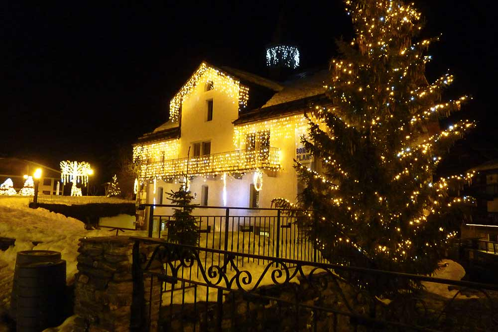 Megève - magique by night…