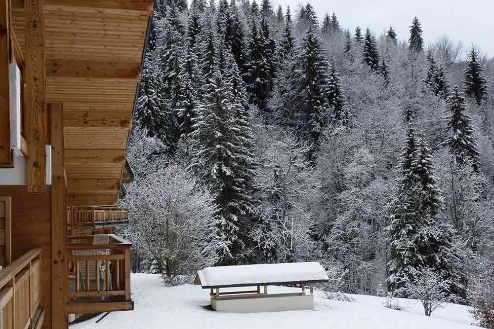 VVF - La Résidence par temps de neige