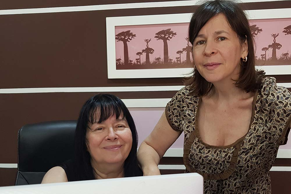 Micheline et Karine, les fondatrices de la marque Les Joyaux de Madagascar