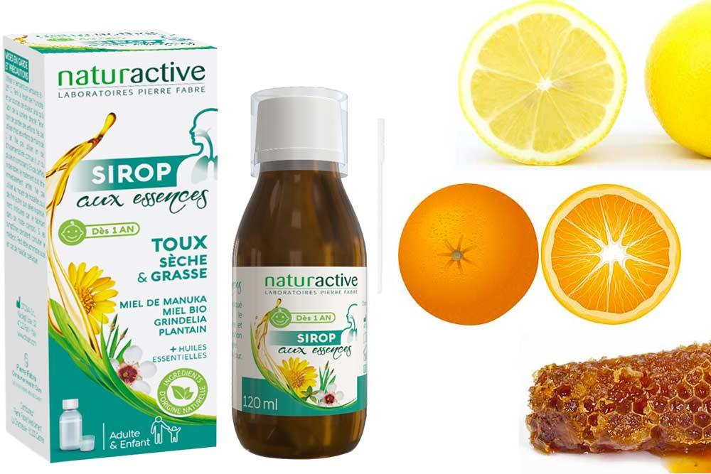 Bien-être respiratoire - avec le Sirop aux essences Naturactive