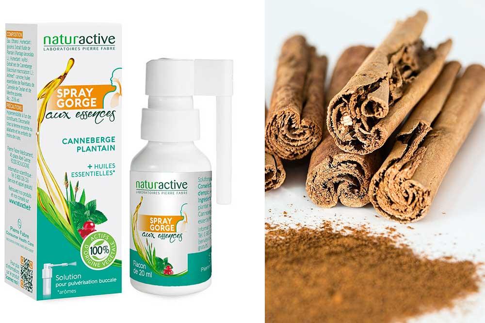 Bien-être respiratoire - avec le Spray gorge aux essences Naturactive