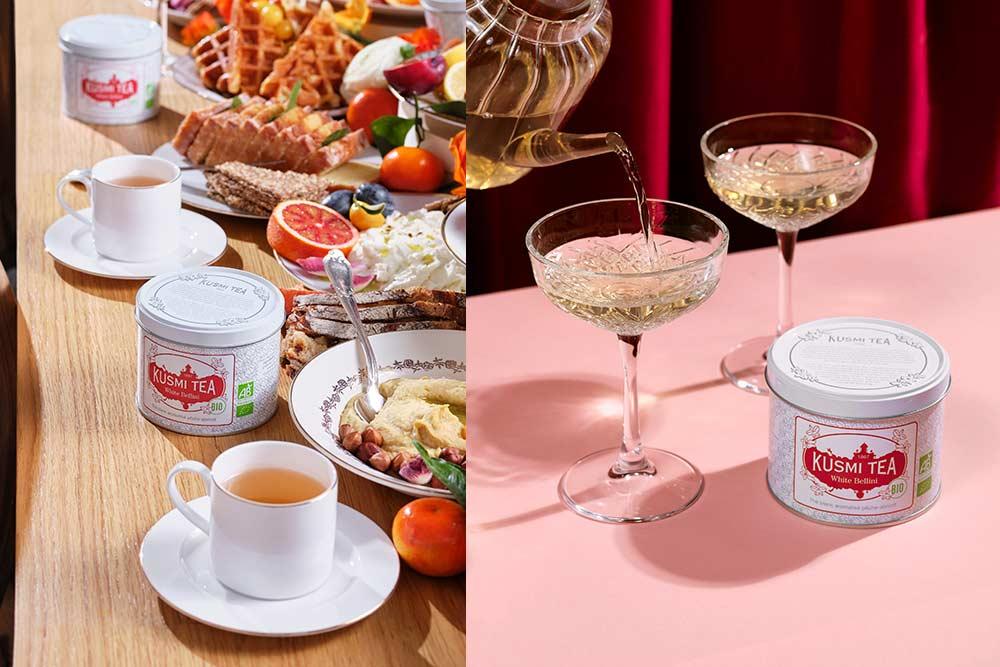Kusmi Tea et son thé blanc si captivant