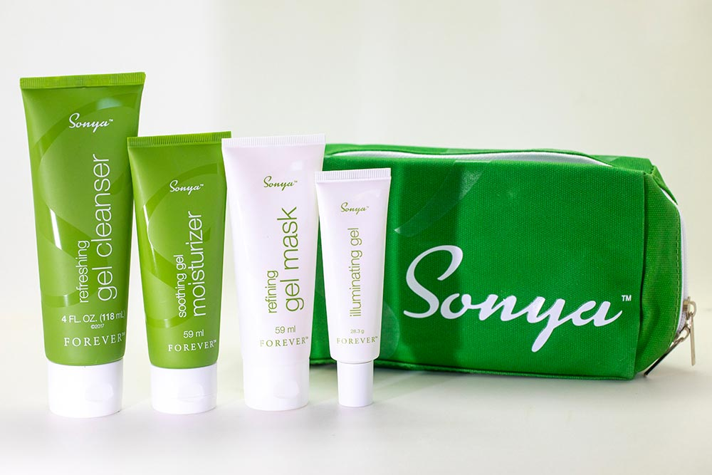 Sonya - une gamme de produits pour les peaux mixtes