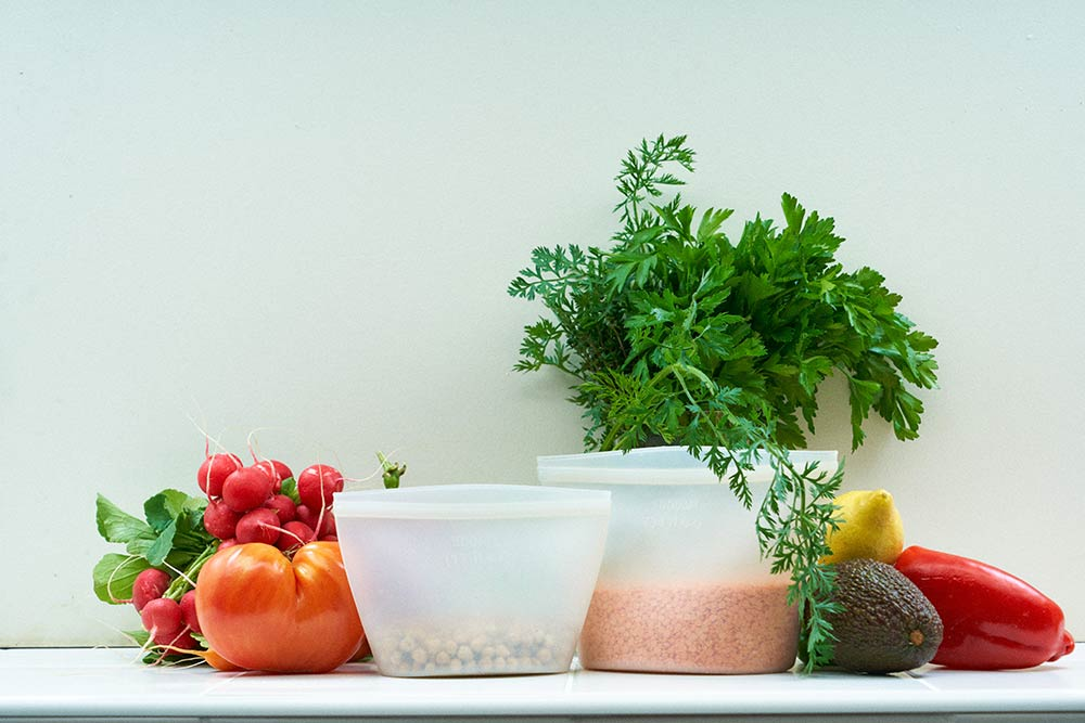 La poche de conservation anti-gaspi d'une cuisine healthy et écolo-friendly